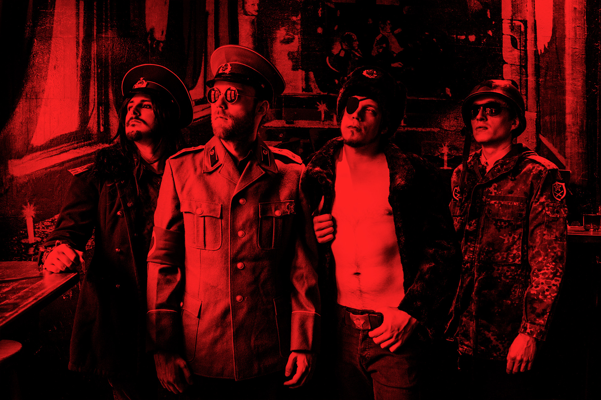 The Love Dictators Promotional Photo @ Hotelux Cologne 1