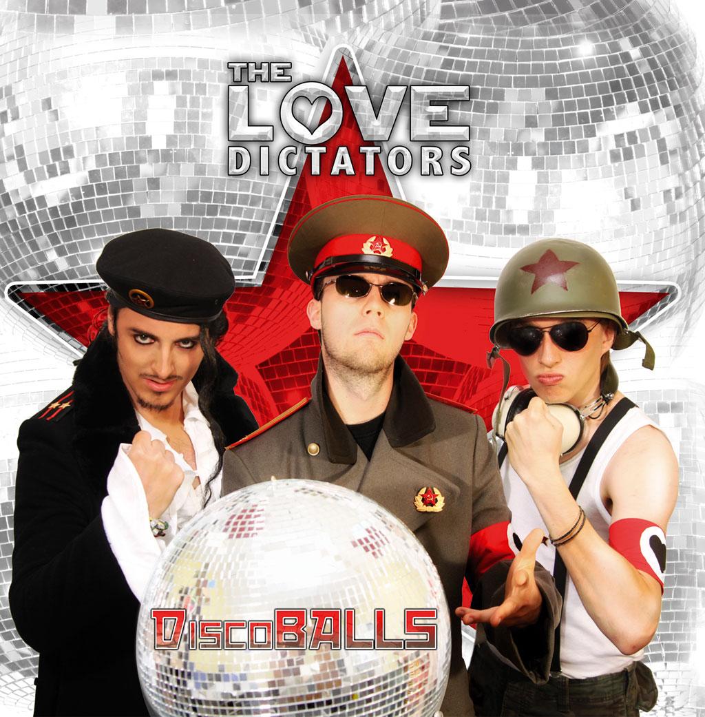DiscoBALLS Album Cover
